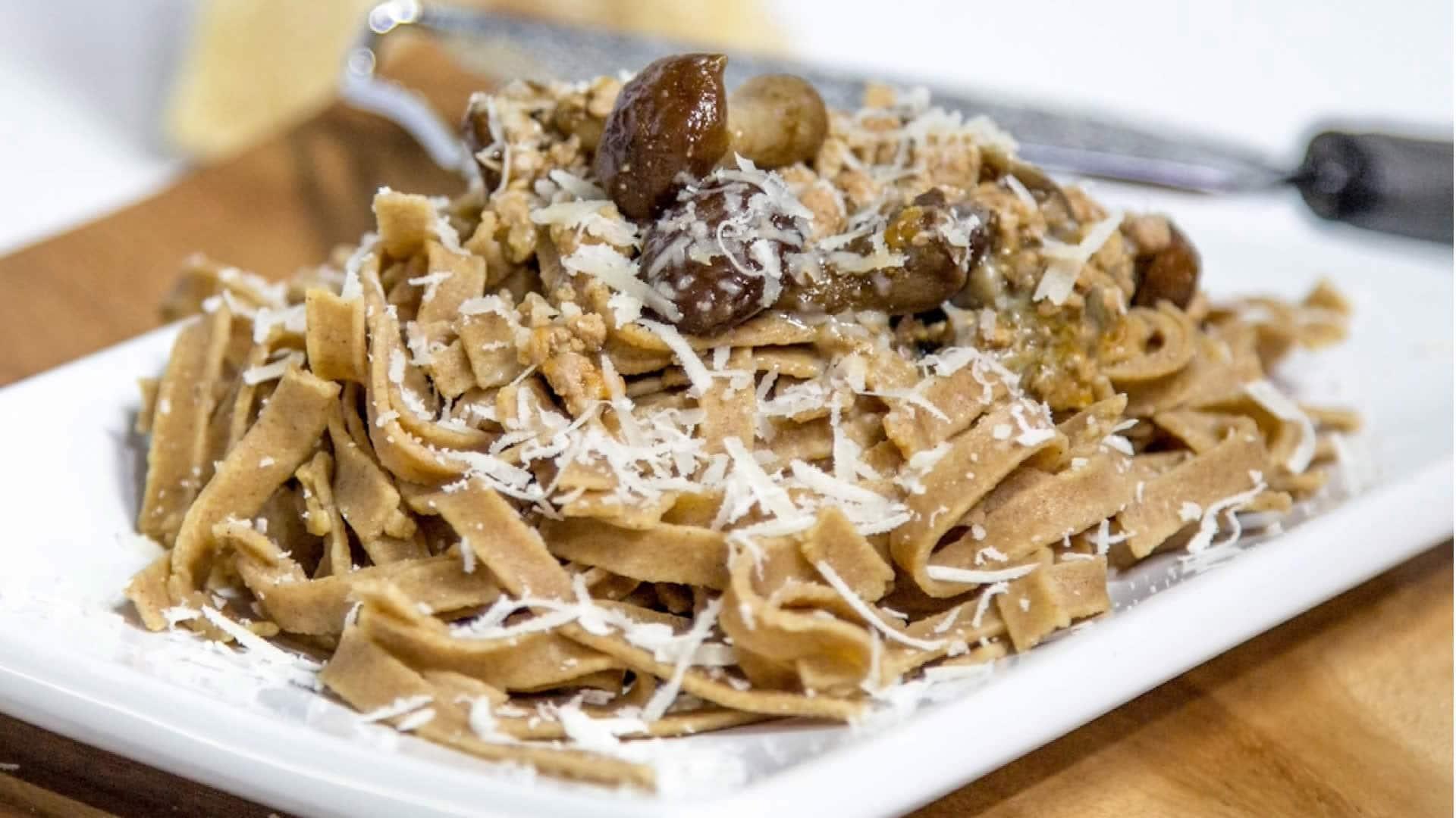 Foto Pasta Fatta in Casa con Farina di Castagne - Pasta Senza Glutine