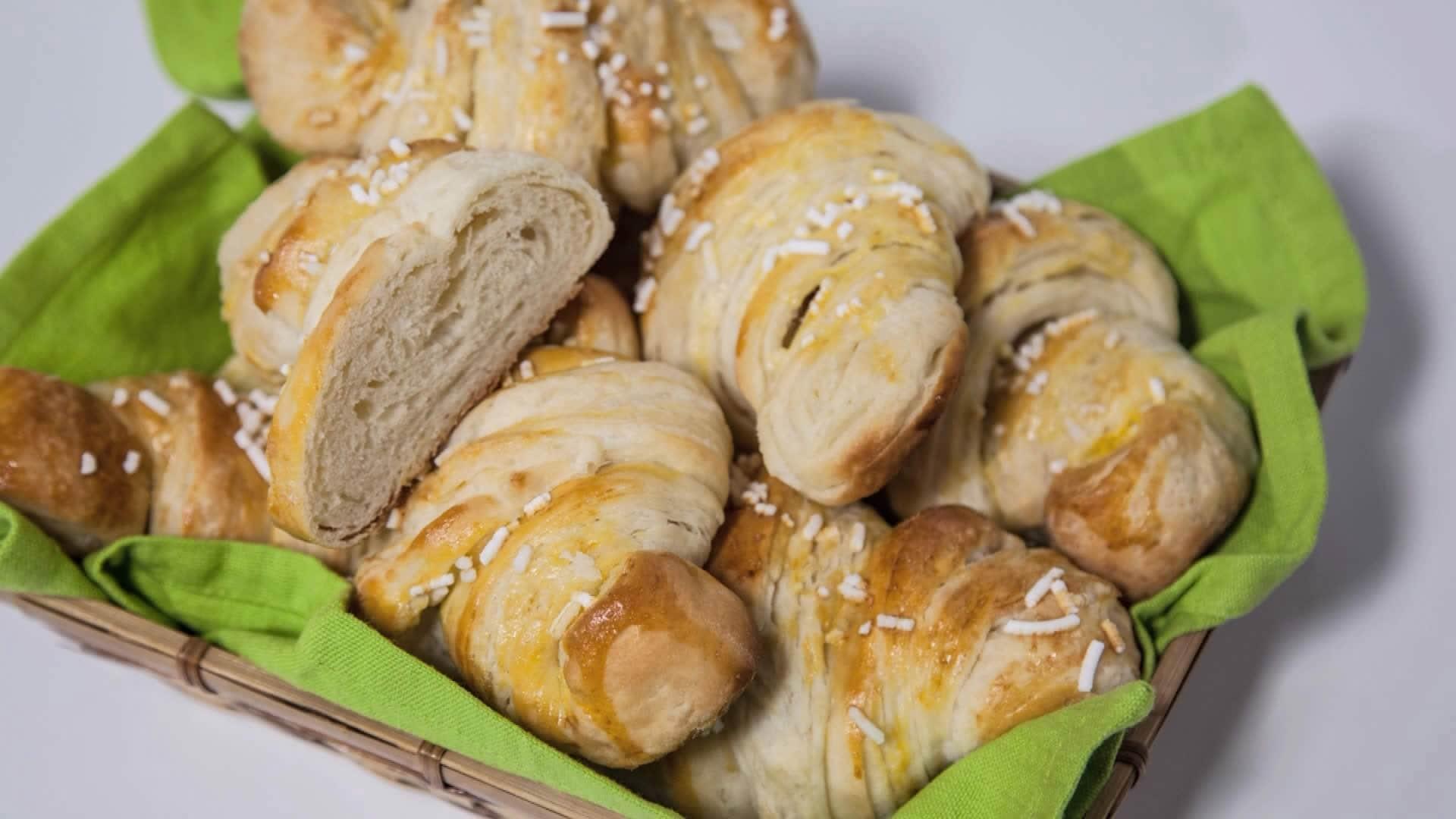 Foto Croissant Sfogliati - Brioches di Sfoglia Senza Uova