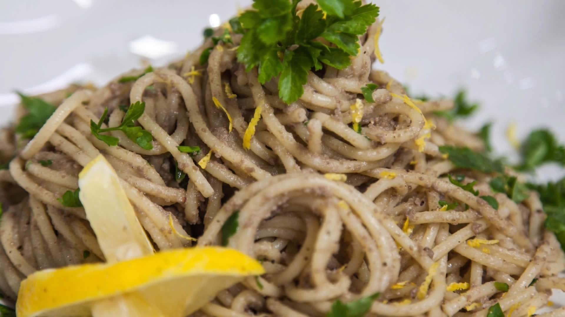 Foto Pasta Con Le Sarde Salate