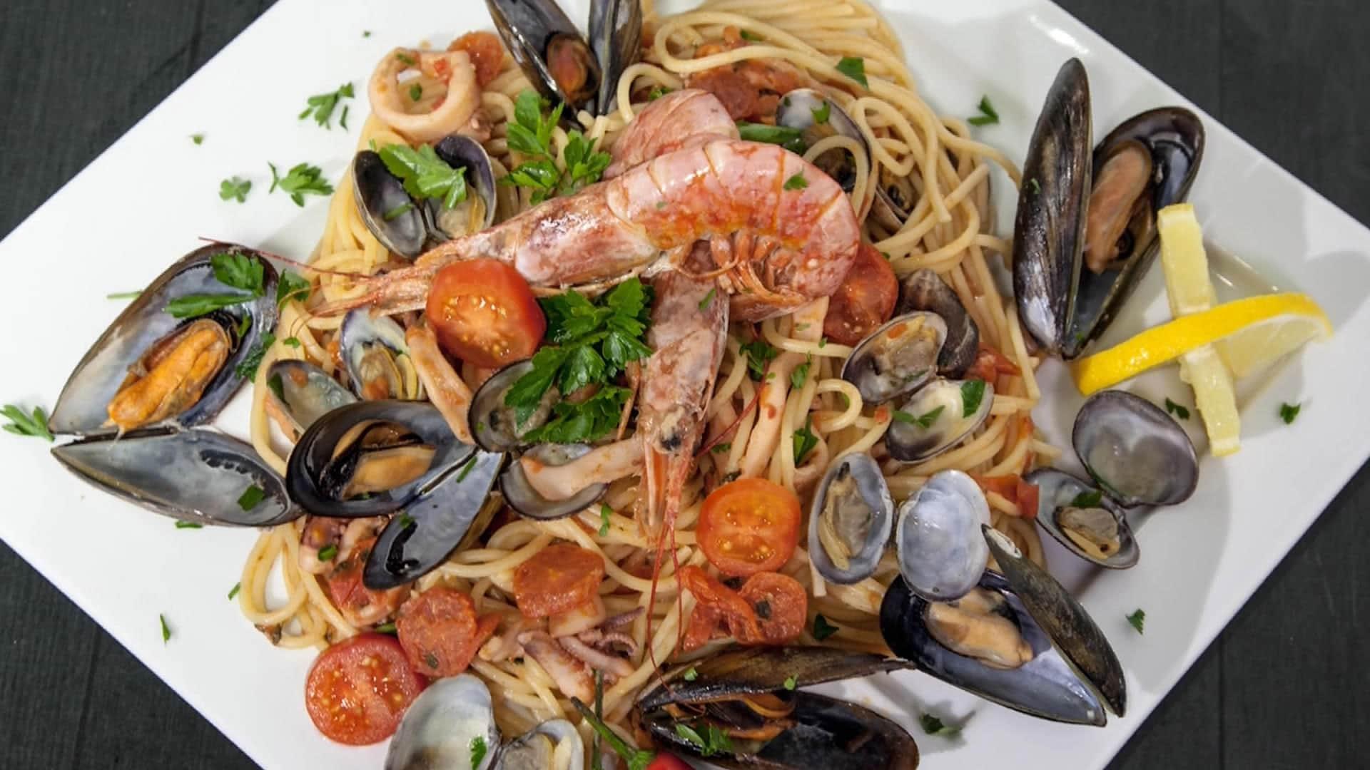 Spaghetti Allo Scoglio Sicula