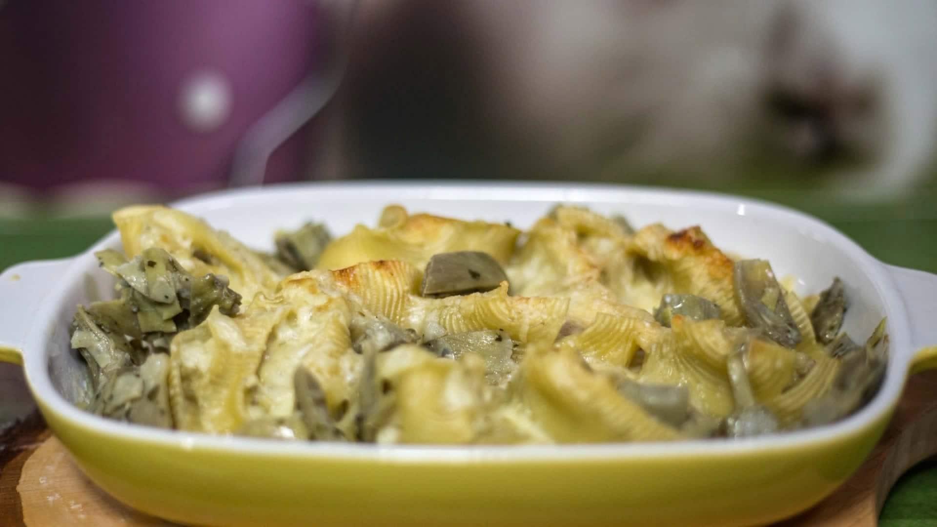 Pasta ripiena con i carciofi ricetta per pasqua for Carciofi ricette