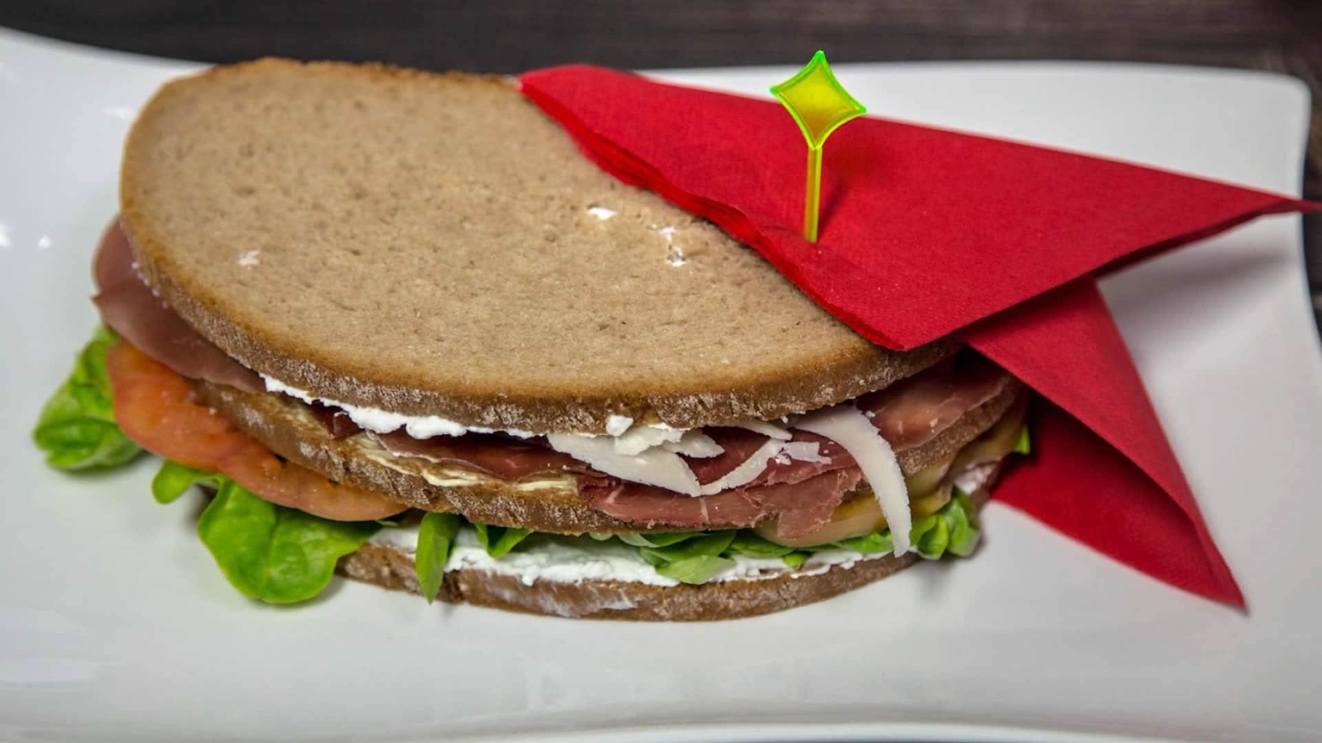 Sandwich light con bresaola