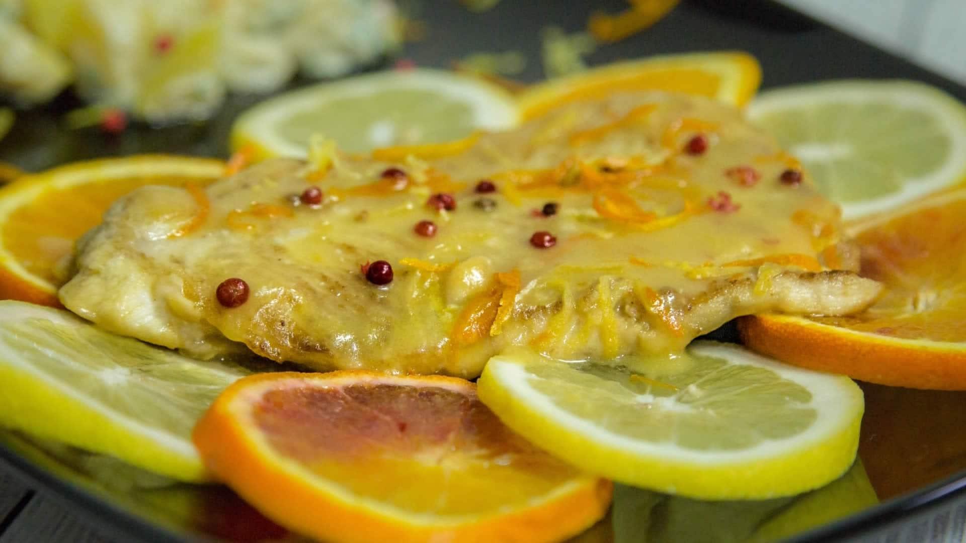 Pesce persico agli agrumi for Ricette di pesce