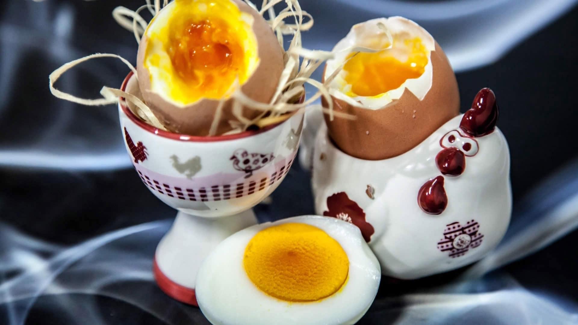 Foto Uovo alla Coque…in Lavastoviglie – Cucina Molecolare