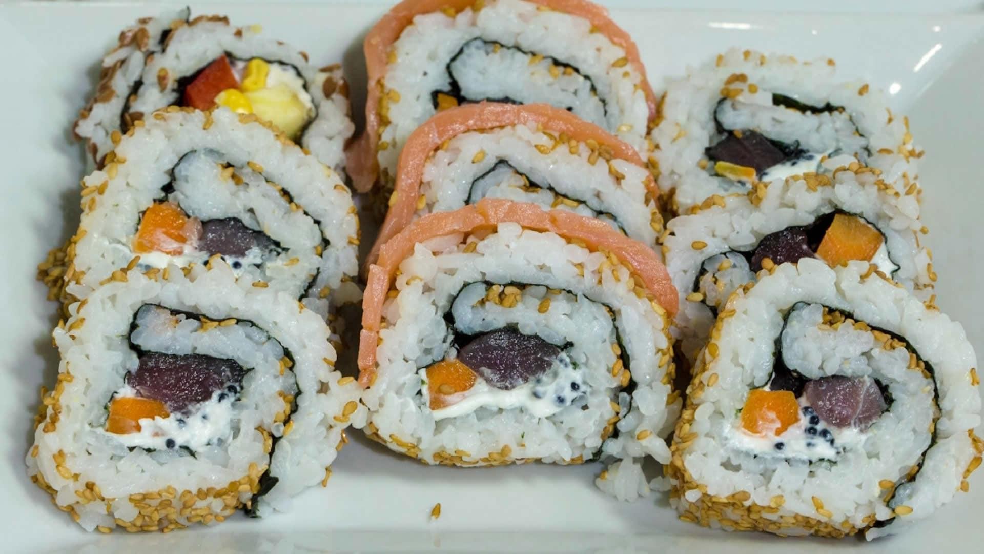 Foto Uramaki Sushi o California Roll