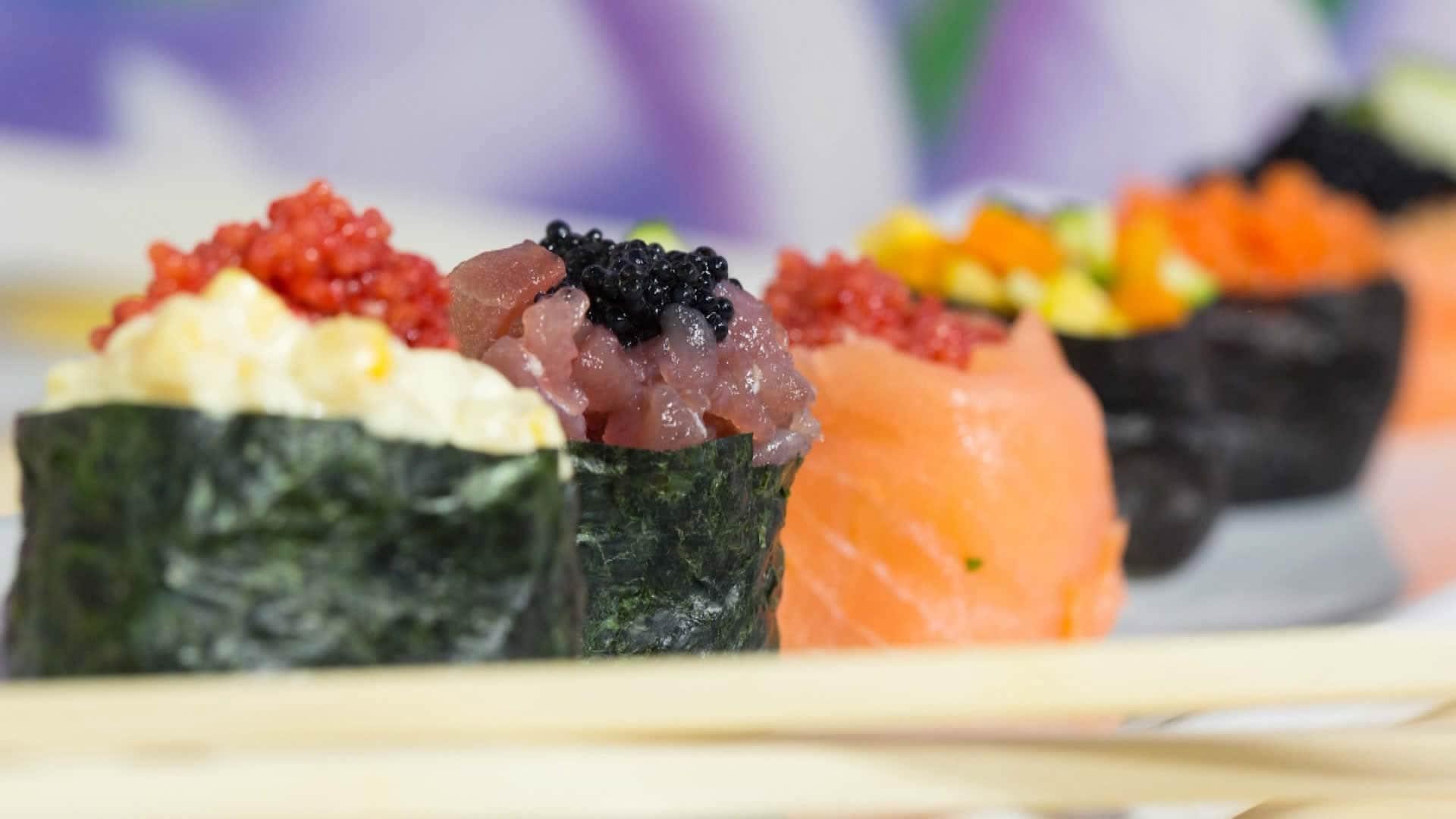 Foto Gunkan Maki Sushi