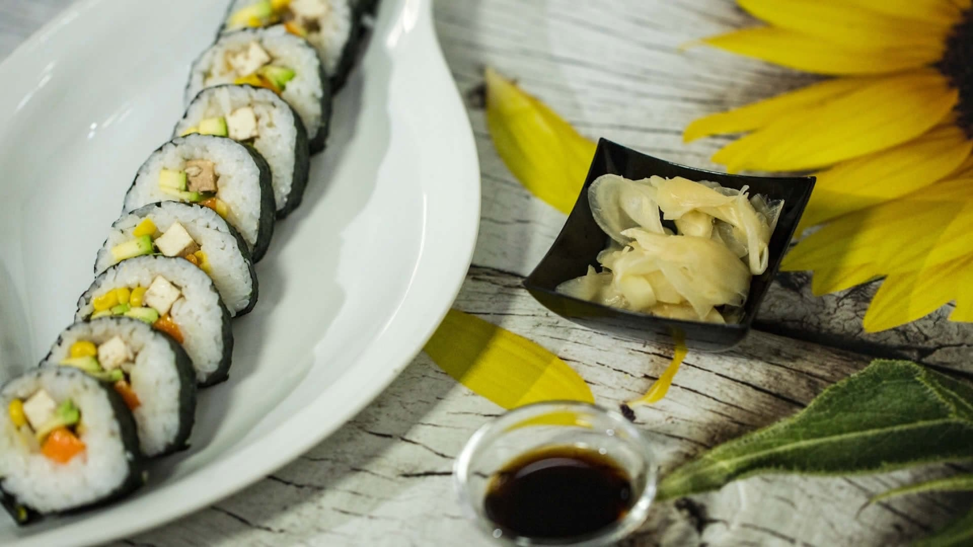 Foto Vegan Sushi