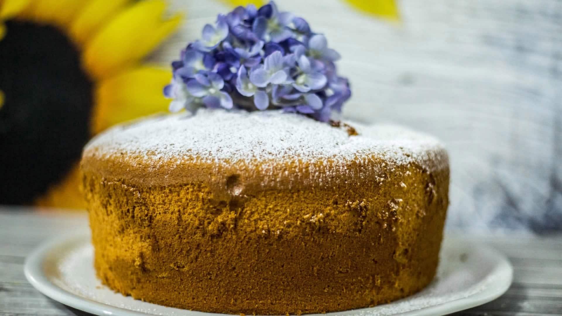 Foto Chiffon Cake - Ciambellone Americano