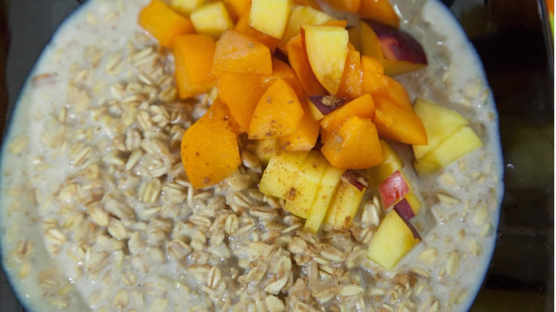 Foto Porridge d'Avena con la Frutta