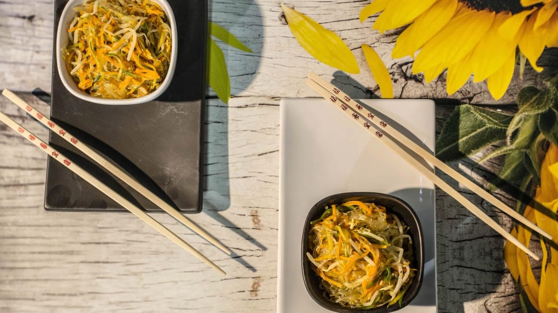 Foto Spaghetti di Soia con Verdure
