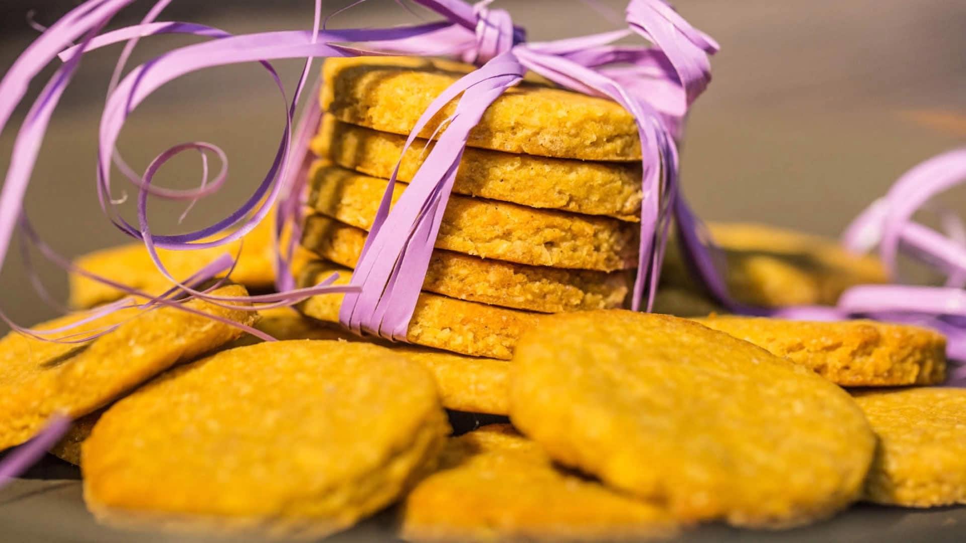 Eccezionale Biscotti Vegani con Farina di Ceci - Senza Glutine YW26