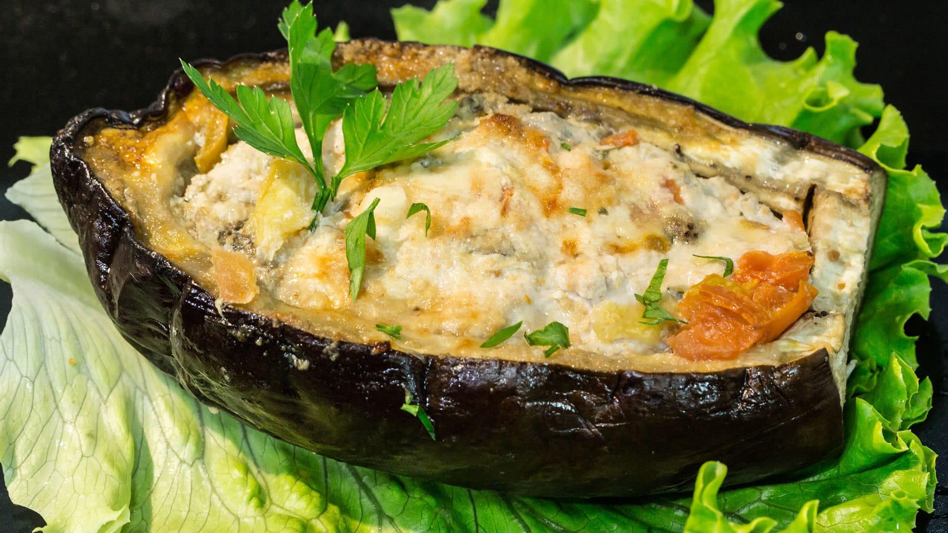 verdure ripiene di carne