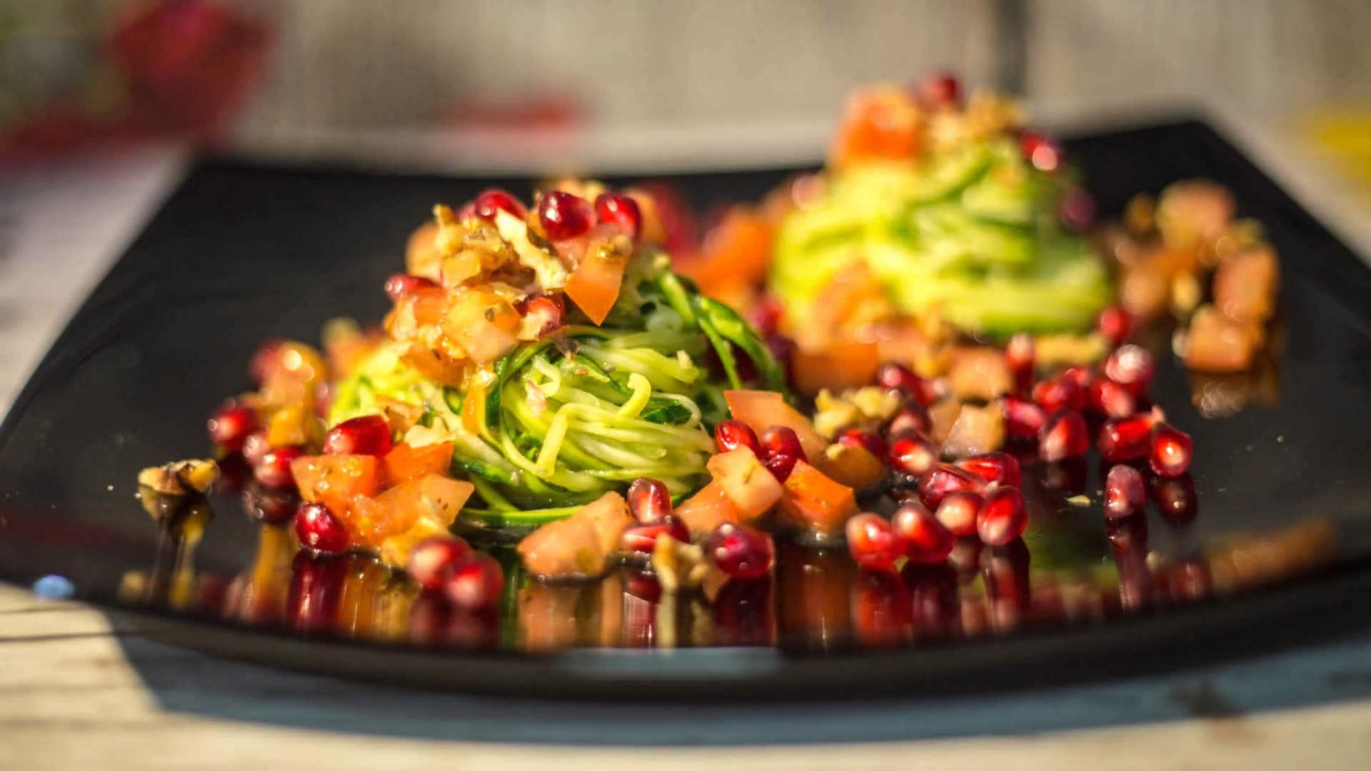 Foto Spaghetti di Zucchine - Spaghetti Crudisti