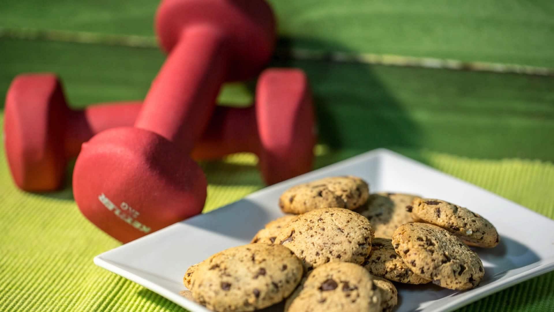 Foto Biscotti Proteici Vegan – Senza Farina, Uova, Burro