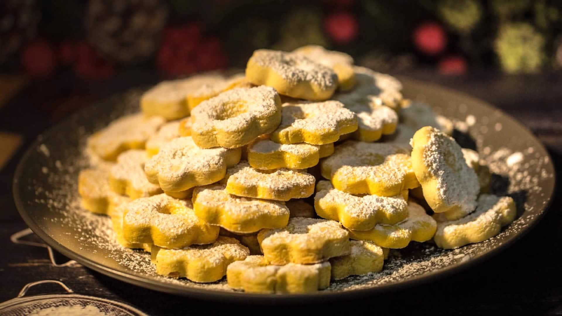 Biscotti Canestrelli con Poco Burro