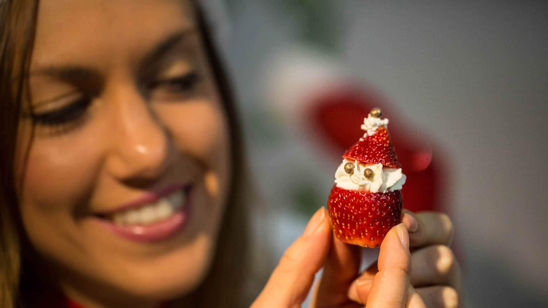 Foto Fragole Ripiene - Babbo Natale di Fragole