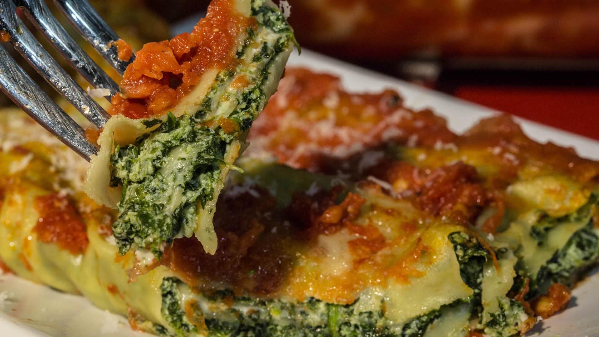 Ricetta crepes ricotta e spinaci al forno