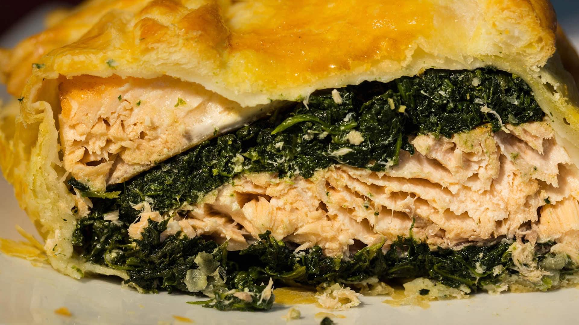 Foto Salmone in Crosta - Tortino di Salmone