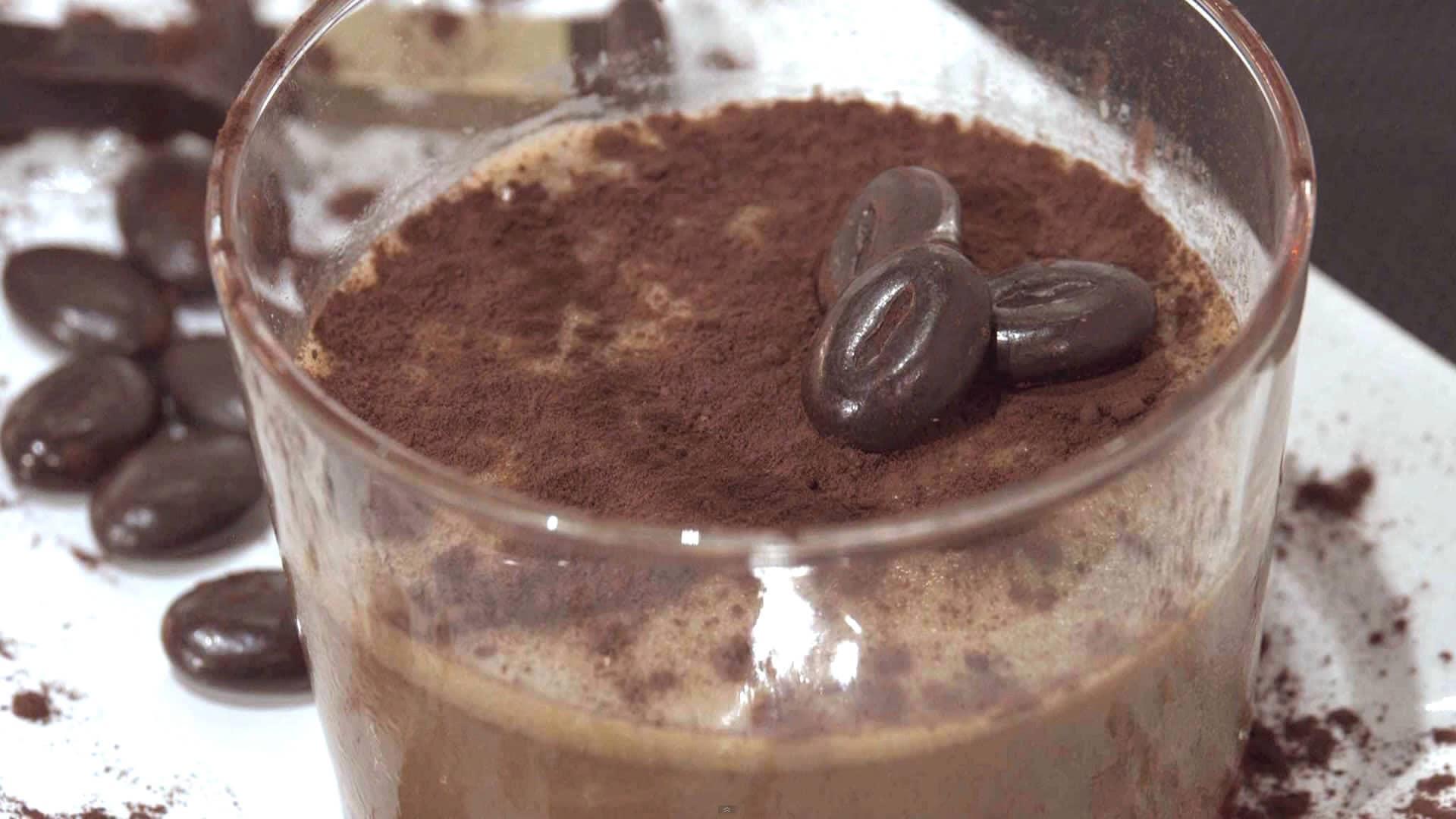 Foto Budino vegano al caffè