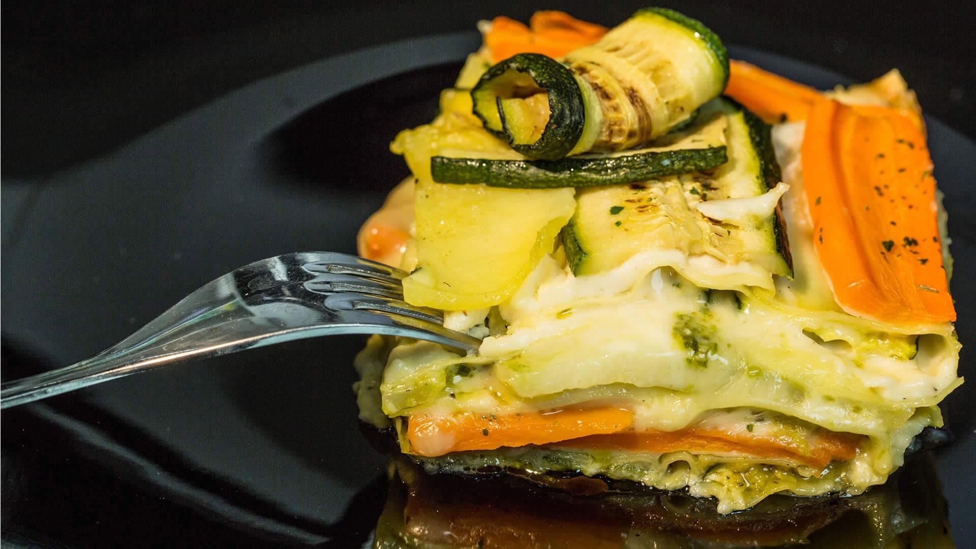 Foto Lasagne alle Verdure con Pesto Genovese