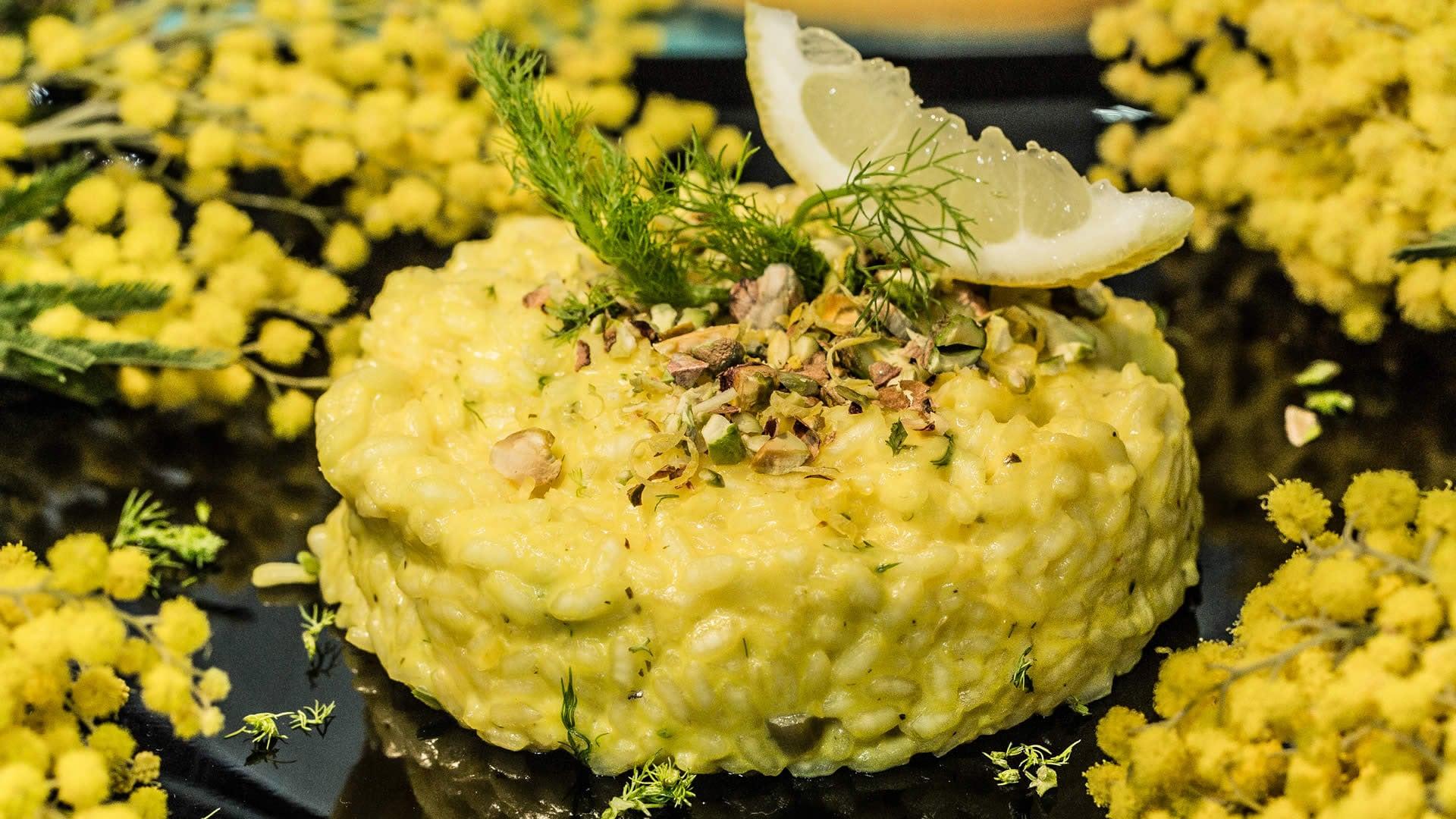 Foto Risotto Mimosa per la Festa della Donna