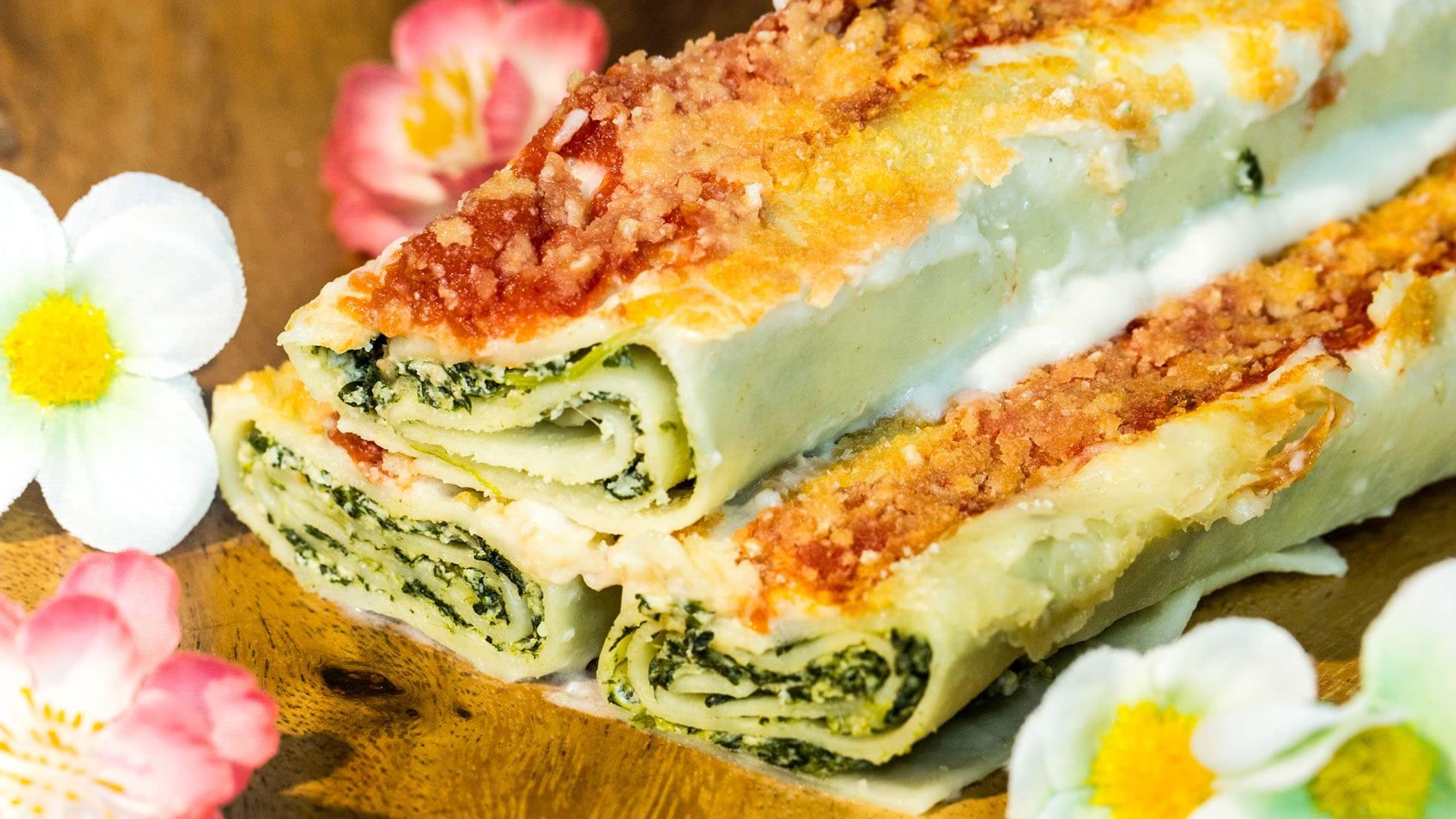 Foto Cannelloni Vegani con Tofu e Spinaci