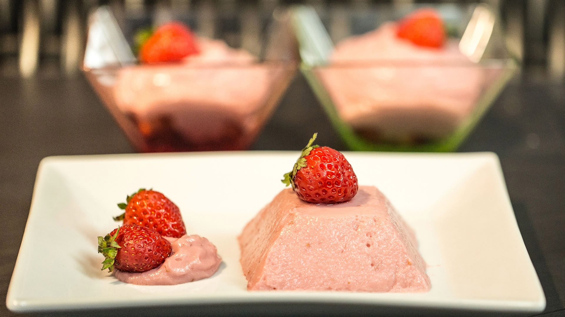 Foto Mousse alle Fragole Vegan