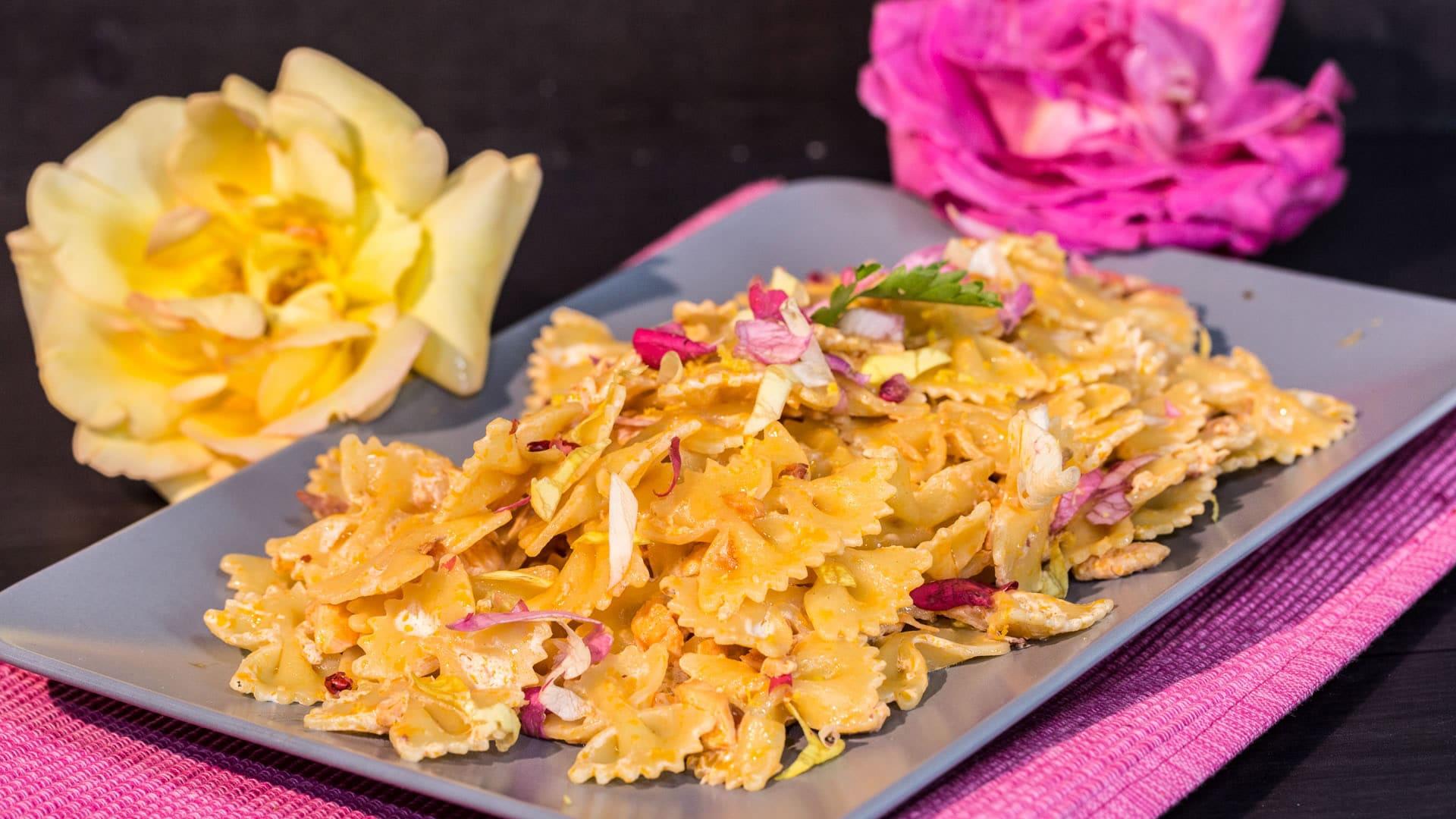 Foto Pasta Rosa per la Festa della Mamma