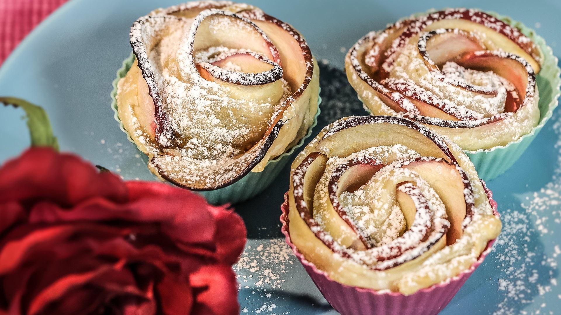 Foto Rose di Pasta Sfoglia