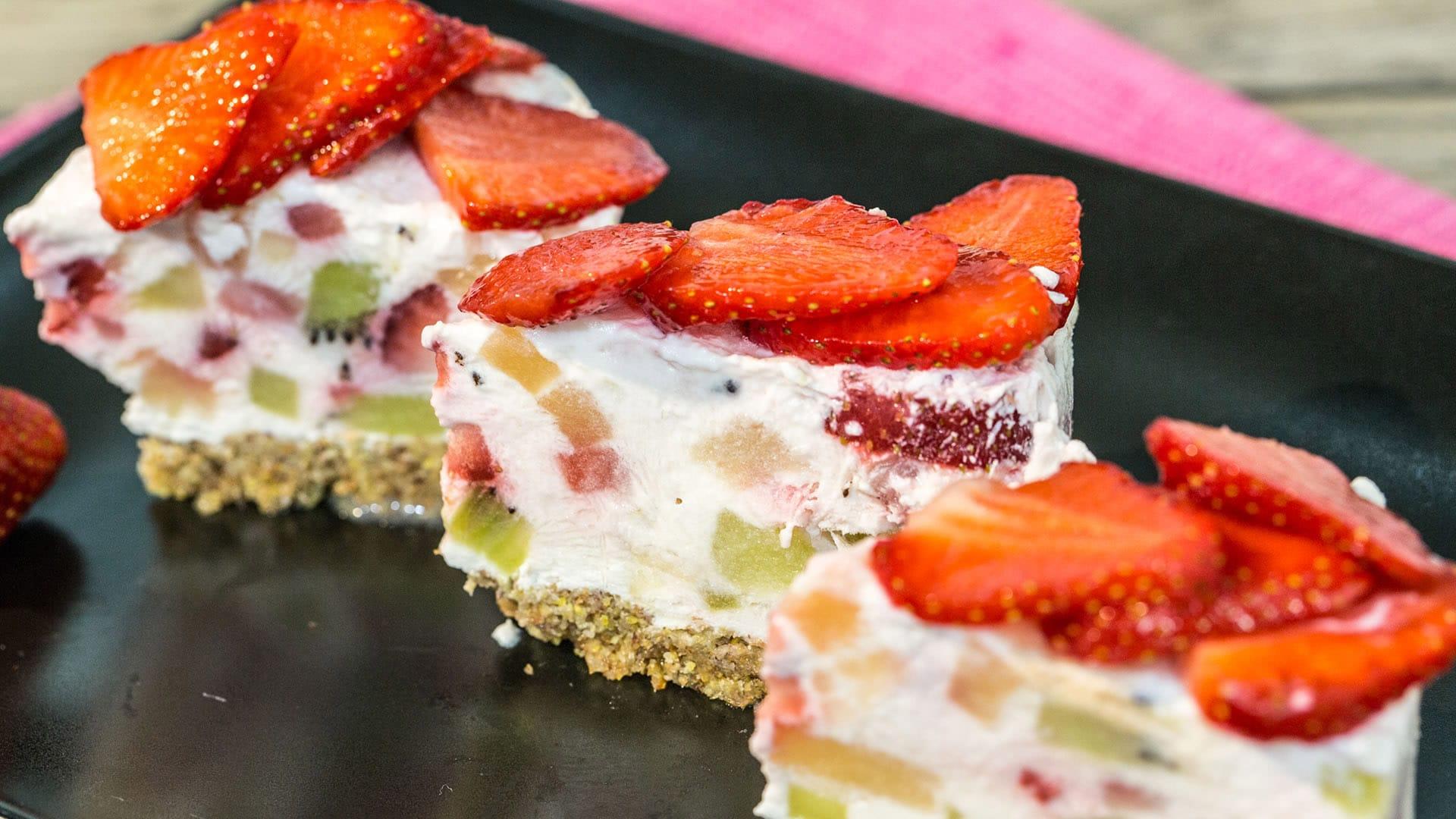Foto Cheesecake Vegana alla Frutta