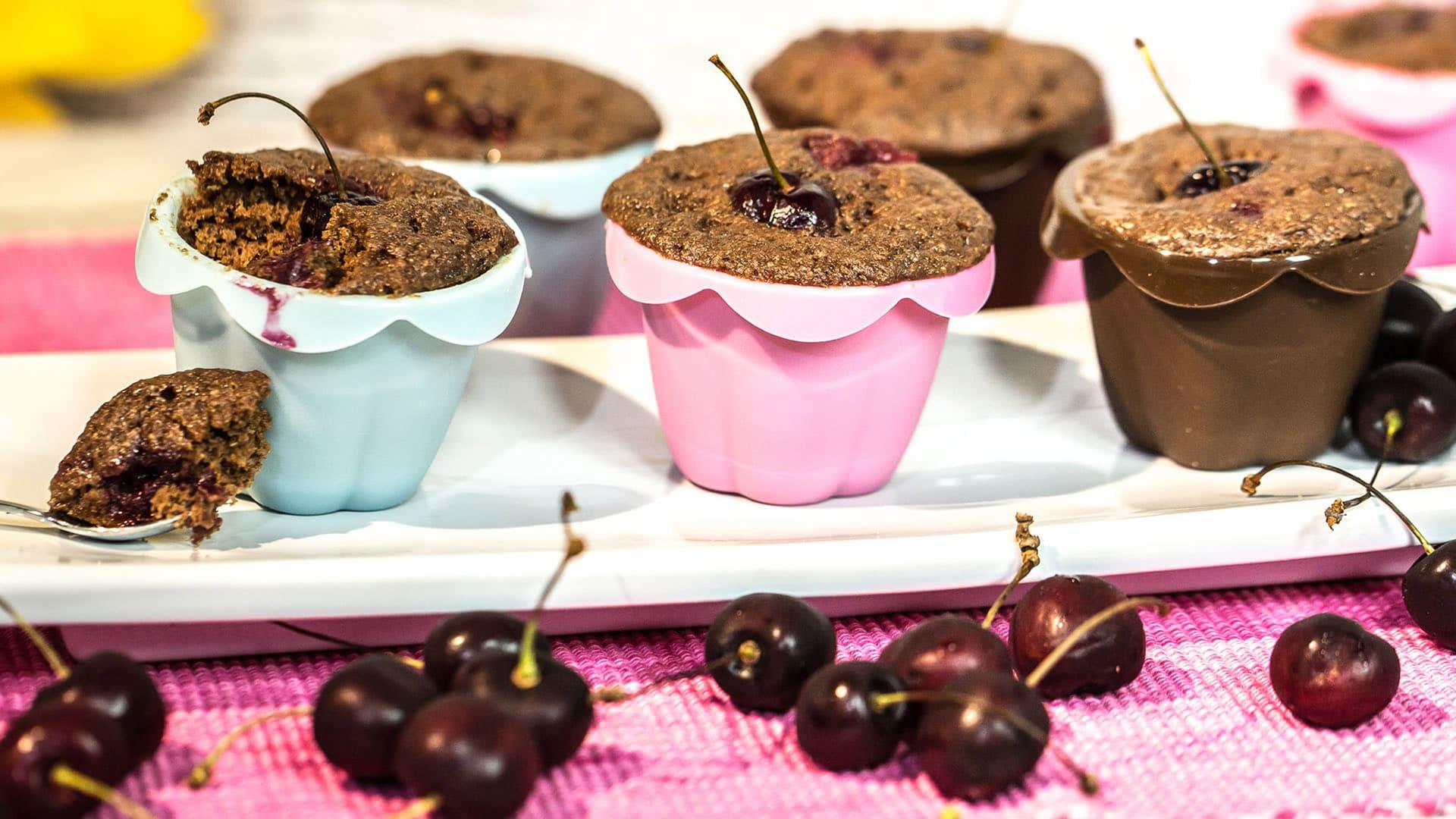 Foto Vegan Cupcake al Cioccolato in 5 minuti