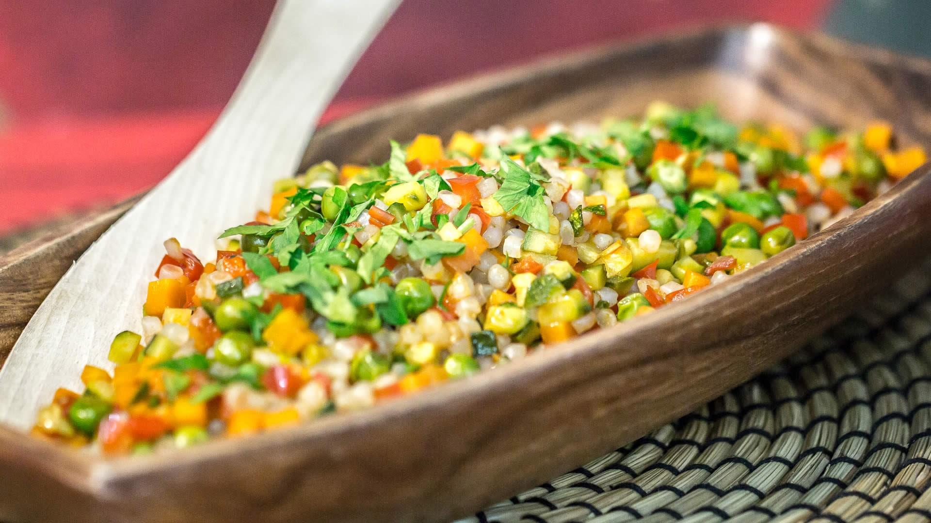 Foto Riso 5 Calorie - Risino di Konjac con Verdure