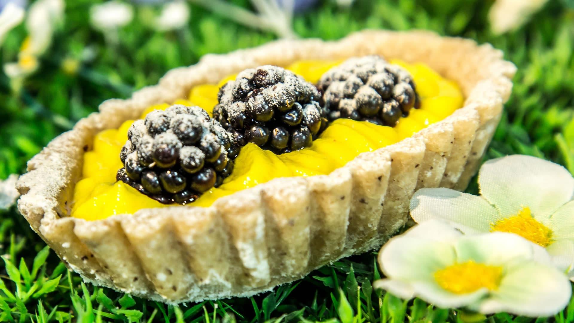 Foto Crostatine alla Frutta Vegane e Senza Glutine