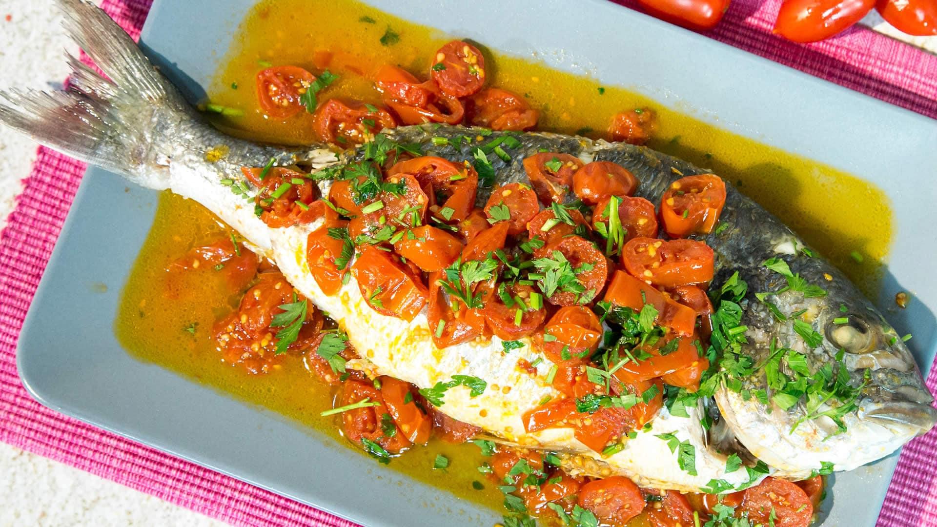 Ricette con pesce zorba