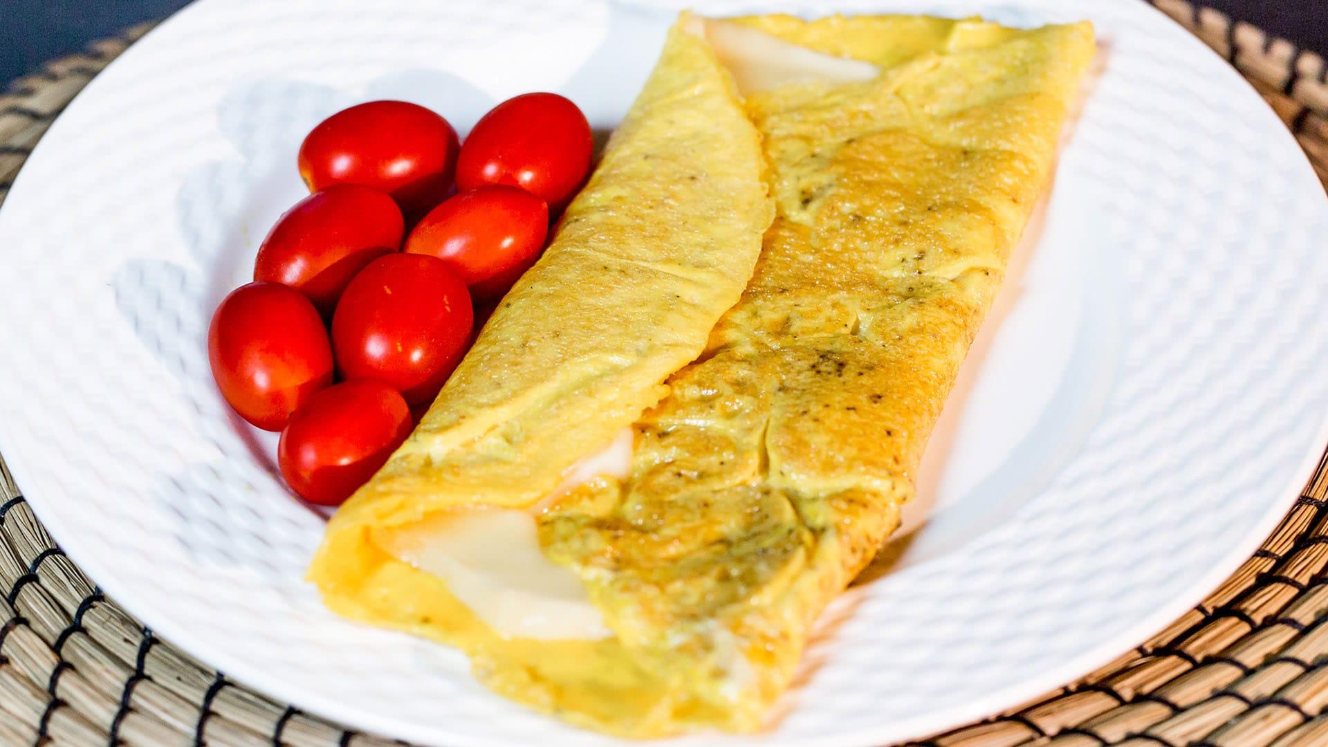 Foto Omelette Perfetta al Formaggio