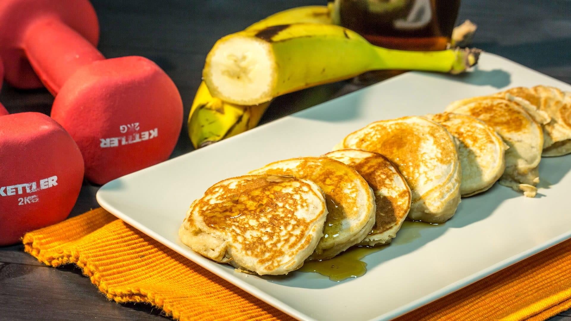 Foto Pancakes Proteici per una Colazione Ricca di Proteine