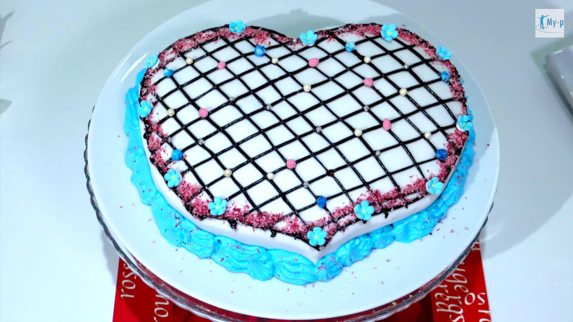 Foto Torta decorata per San Valentino