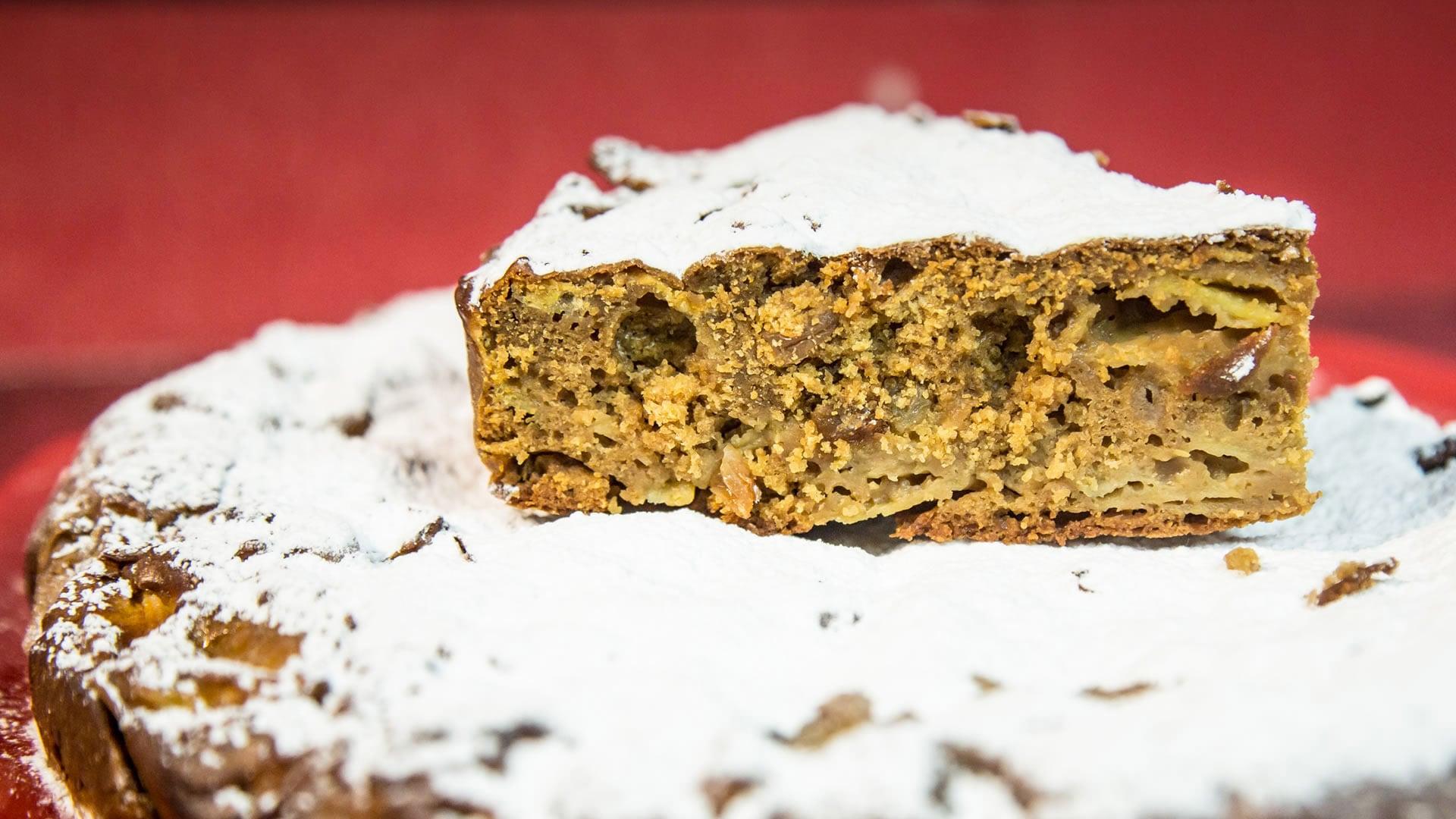 """Foto Torta di Castagne Senza Glutine (Torta """"6 vasetti e mezzo"""")"""