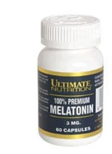 Melatonina - Ultimate Nutrition