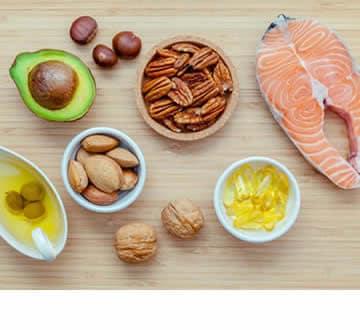 Acidi grassi essenziali negli alimenti