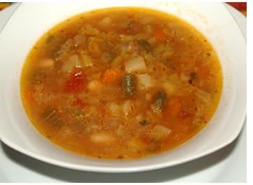 Calorie minestrone