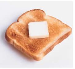 Calorie toast