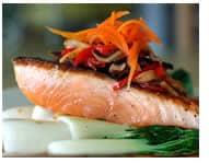 Salmone grassi essenziali