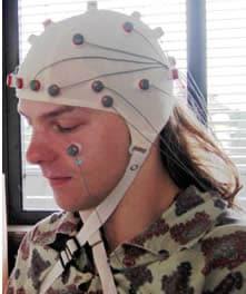 Cuffia per elettroencefalogramma
