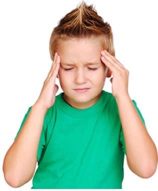 Mal di testa nel bambino for Mal di testa da cervicale quanto puo durare