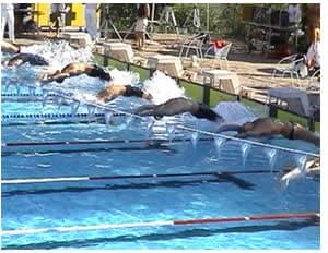 Esercizi e allenamento nuoto