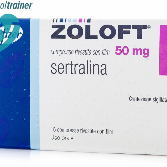 zoloft Zoloft is one of the many trade names under which sertraline is marketed, perhaps the most popular on the market the manufacturing company, pfizer, is a renowned multinational pharmaceutical company, based in new york city, usa.